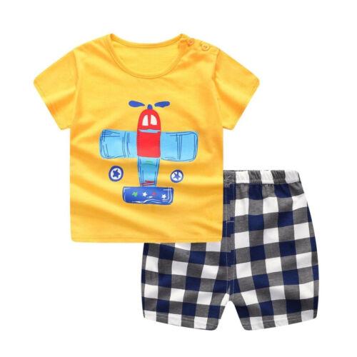 Bee Kidz® Camisas Pantalón Sets Ropa de Bebe Para Niño de 6 a 24M de Moda Niños