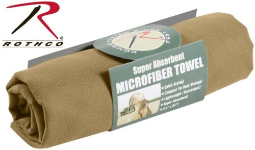 """Microfiber body towel Super Absorbant Compact Size 15/"""" X 24/""""  Rothco 92 94 /& 98"""
