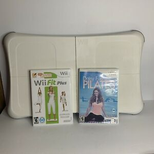 Wii Balance Board With Wii Fit Plus And Daisy Fuentes Pilates Tested Works