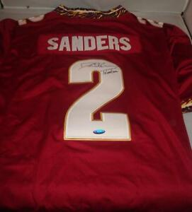 new arrivals 61caa 16a0b Details about Deion Sanders signed Florida State Seminoles jersey - Tristar  - Primetime inscri