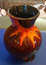 ANITA HARRIS STUDIO sunflower Trojan vase FREE P&P Ex Condition %