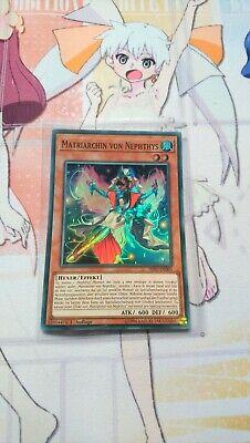 Super Rare HISU-DE001 3x Matriarchin von Nephthys