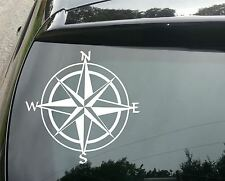 LARGE Compass Travel Car/Window JDM VW EURO Vinyl Decal Sticker