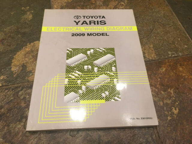 2009 Toyota Yaris Electrical Service Wiring Diagrams