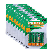 36PCS Ni-Zn AA 1.6V 2500mWh Rechargeable Batteries PKCELL NEW 1.6V NiZn Battery