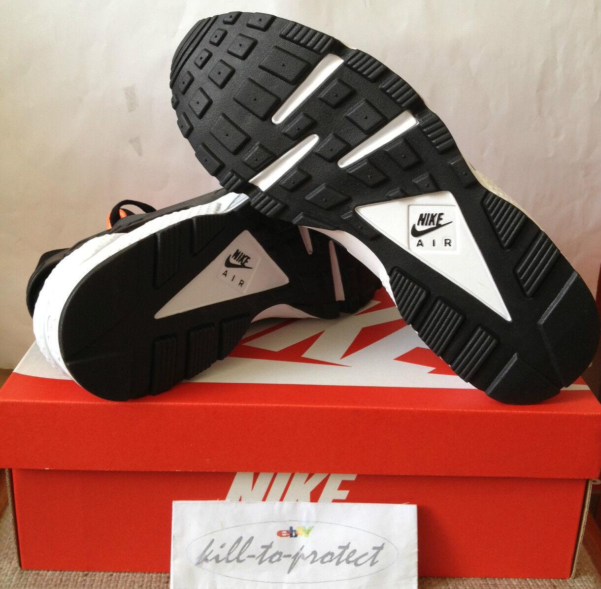 Nike air totale huarache le noi nero totale air arancione 318429-081 2013 0ad49d