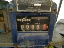 Vintage Neptune Meter Register Model 433 Oil Gas Meter