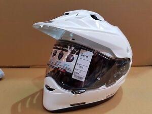 Shoei-Hornet-ADV-motorcycle-helmet-white-Large-E6