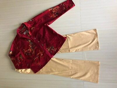 Nwot Jewelry Set Outfit: Jkt;top;pants 8 Women's Chico's Sz 1.0 Euc 1b Long Performance Life