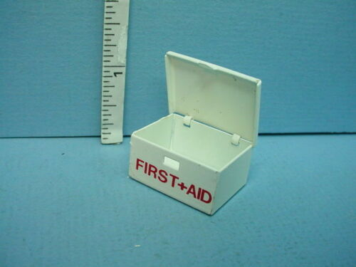 Empty #Mul2510  Multi Minis 1//12 Scale Miniature First Aid Box