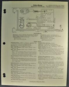 1934-1935 Dodge Truck Wiring Diagram Sheet K-30 Stake ...