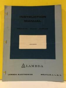 Lambda-Power-Supplies-LDS-W-Series-Instruction-Manual