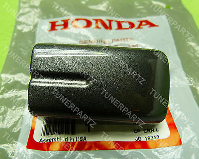 GENUINE 04 05 06 07 ACURA TL LEFT REAR DRIVER GRAY PEARL DOOR HANDLE COVER CAP