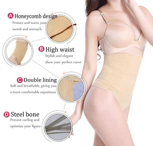 Women/'s Underbust Slimming Tummy Tuck Belts Body Shaper Belly High Waist Cincher