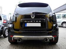 Auspuff Endschalldämpfer Duplex 90mm Dacia Duster 4x4 Diesel Sportauspuff