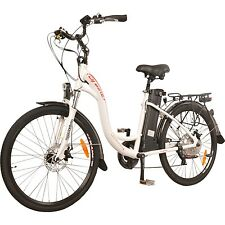 DJ Bikes 500W 7-Speed Electric Bicycle 48V 13Ah Lithium-Ion Battery Ebike Adults