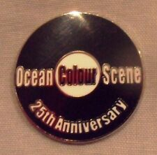 *NEW* Ocean Colour Scene 25th Anniversary Enamel Badge.Mod,Paul Weller,OCS,Vespa