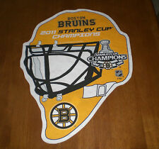 2011 BOSTON BRUINS STANLEY CUP CHAMPS DIE CUT PENNANT