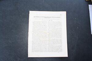 1853/rapport Technique Bauzeitung 91/oosbach Oos 10 Pages Baden Beuren, Etc-afficher Le Titre D'origine ImperméAble à L'Eau, RéSistant Aux Chocs Et AntimagnéTique