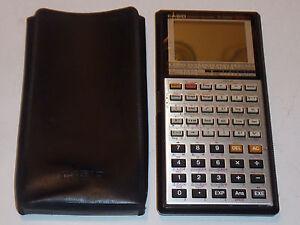 CASIO-japan-FX-7000G-graphics-VINTAGE-CALCULATRICE-Taschenrechner-CALCULATOR