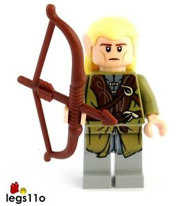 OFFICIAL LEGO Legolas minifigure NEW from Lord Of The Rings set 9473