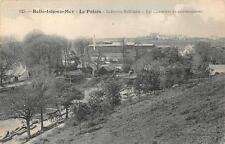 BELLER ISLE EN MER LE PALAIS FRANCE SHIP WW1 MILITARY POSTCARD (c. 1915)