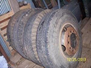 TIRES-11 X R20 W/ BUD WHEELS FOR SEMI-TRUCKS | eBay