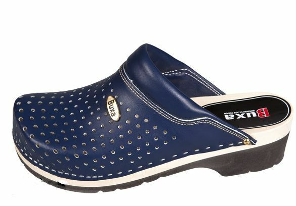 Wooden Wooden Wooden clogs Dark bluee color FPU11     US shoes Size (Men's) 6bd28f
