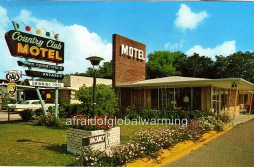 New Orleans Airline Hwy Country Club Motel Old Photo LA