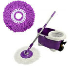 Household Magic Replacement Refill 360°Spin Cleaning Pad Microfiber Mop Head