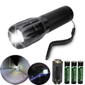 LED Tactical Flashlight Military 3Models Torch Small Super Bright Handheld Light