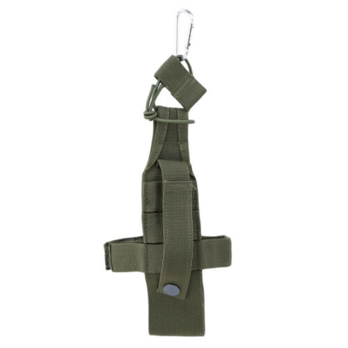 Portable Outdoor Hiking Water Bottle Holder Belt Straps Carrier Pouch Nylon Bag