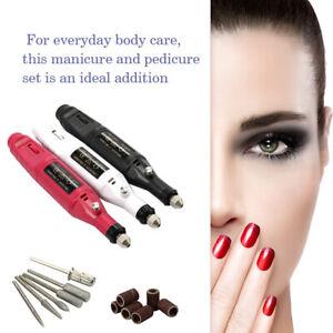 Eg-Gel-pour-Ongles-Polissant-Perceuse-Manucure-Gravure-Rotatif-Mini-Electrique