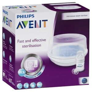 Philips Avent Microwave Steam Steriliser Baby Bottle BPA Free