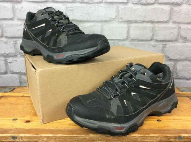 SALOMON LADIES UK 6 EU 39 13 EFFECT GTX BLACK WALKING SHOES RRP £99