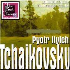 "Tchaikovsky - Manfred Op.58, The Tempest""Op.18 - Mikhail Pletnev BRAND NEW CD"
