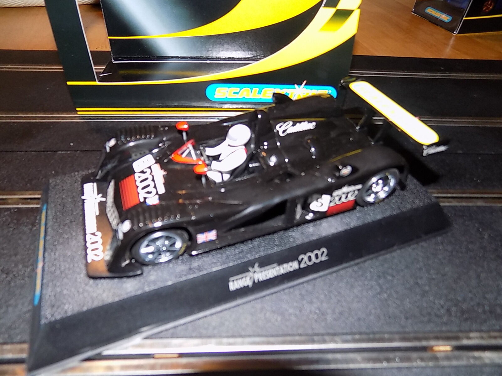 SCALEXTRIC RANGE PRESENTATION CAR 2002 NEW BOXED