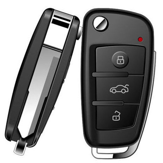 1080P Car Key Chain Spy Hidden Mini DVR Camera Motion Detect IR Night Vision OTG