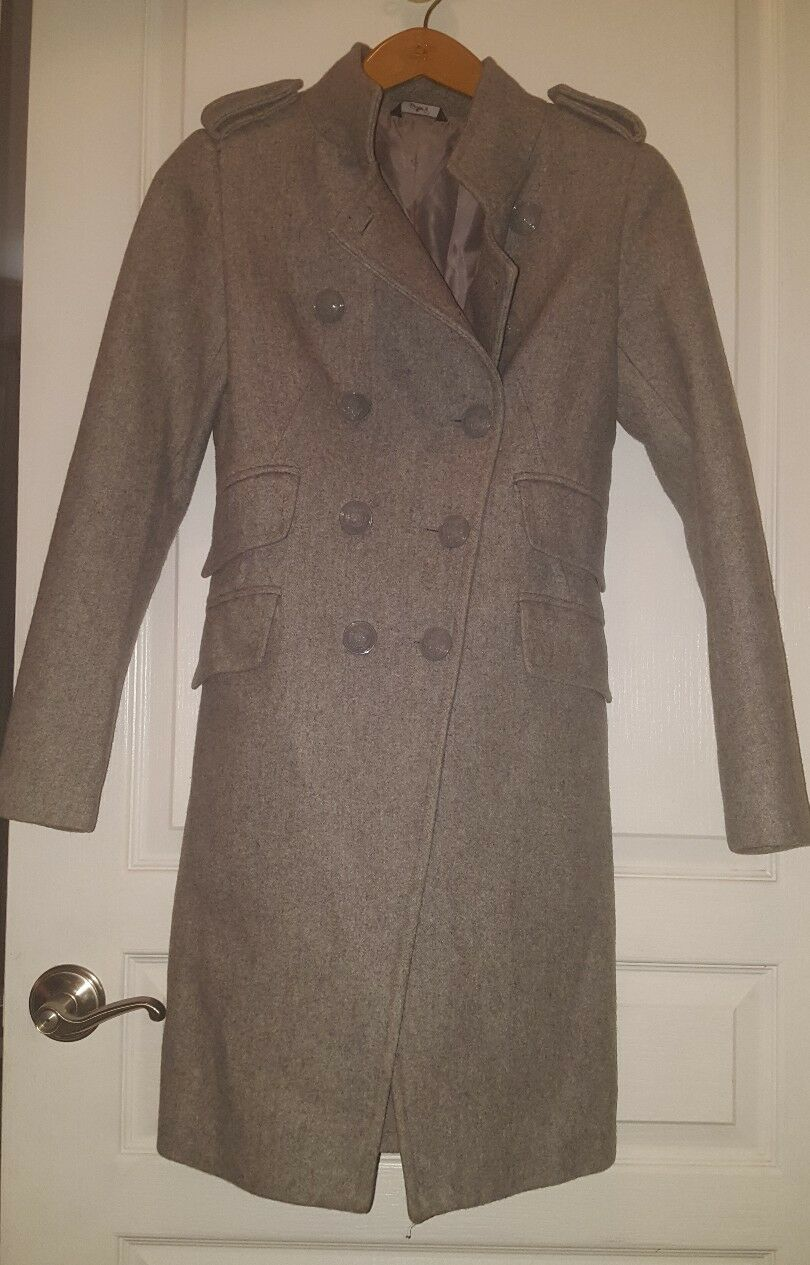 G.Sel Italian Wool Coat Small