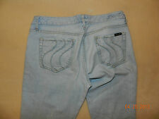 Women's Seven 7 Light Wash Denim Jeans 32 Bootcut