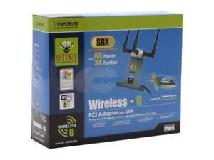DRIVERS: WIRELESS-G PCI ADAPTER WITH SRX