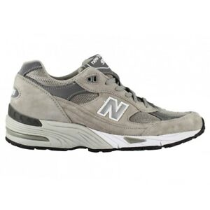 NEW BALANCE 991 GL MADE IN UK SCARPA RUNNING LIFESTYLE SNEAKER UOMO GRIGIO GREY