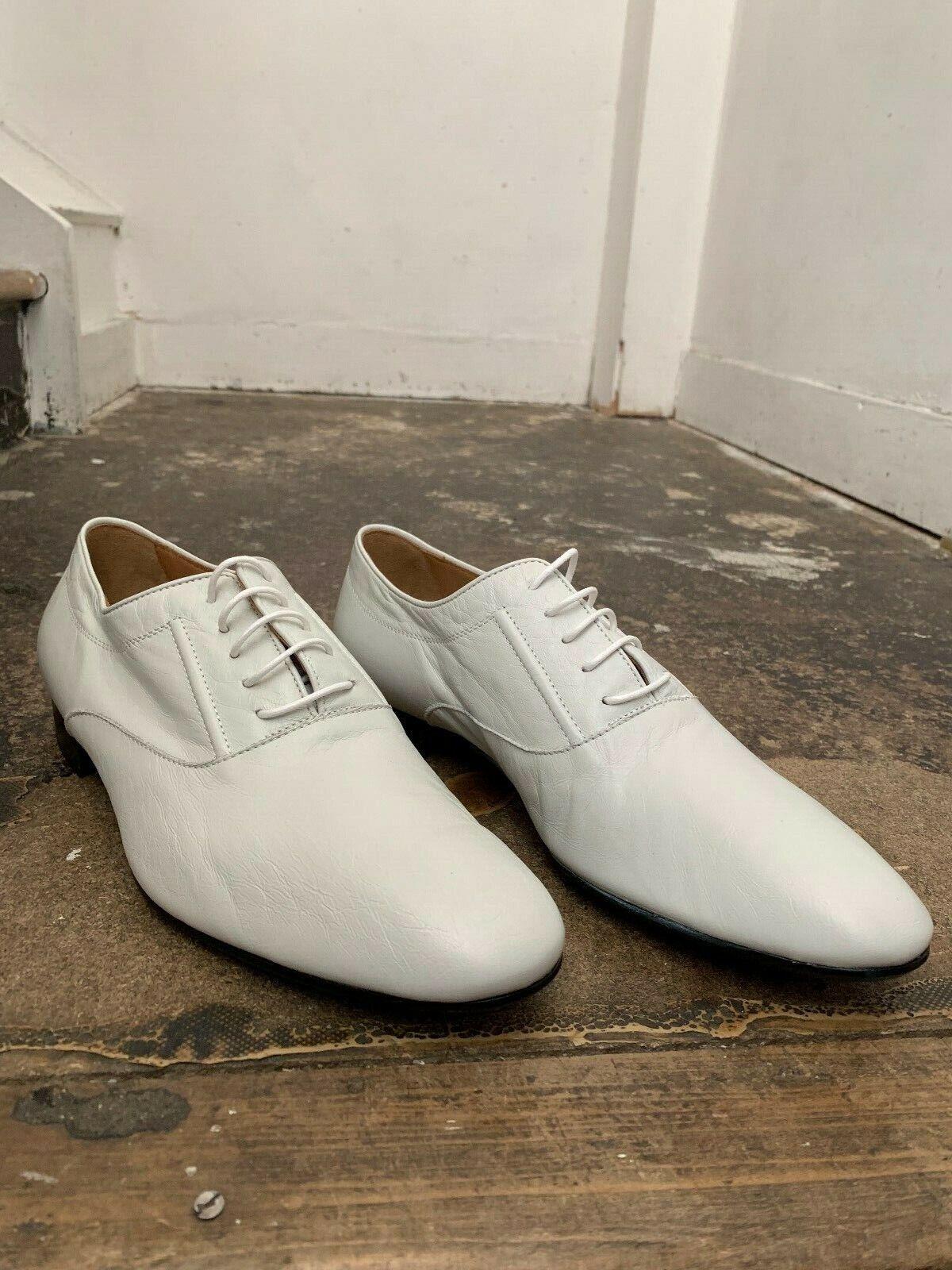 NEW Maison Martin Margiela Off White Oxford shoes GENUINE Size 42   BNIB