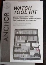 New Complete Toolkit for the Watch Enthusiast with Leather Bag-~~Free Shipping~~