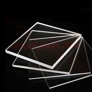 12/'/' x 12/'/' Transparent Acrylic Plexiglass Sheet Replacement Glass Thickess:6mm