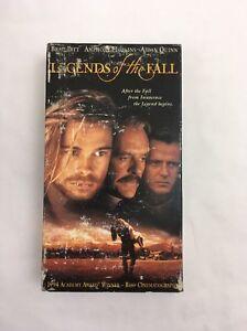 Legends of the Fall (VHS, 1995) Brad Pitt Anthony Hopkins ...