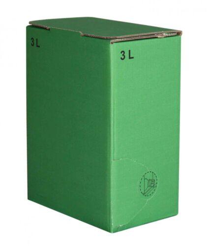 0,85 €// 1 pc 50stück 3 litres sac en Boîtier Carton en vert