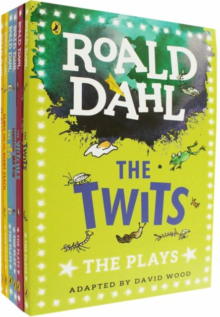 Roald Dahl The Plays 6 Books Collection, The BFG, Charlie and the Chocolate Fact