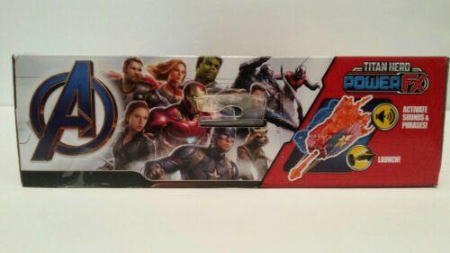 Avengers Marvel Endgame Titan Hero Power FX Captain Marvel Brand New