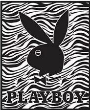 2 Playboy LUXE Fleece Throw